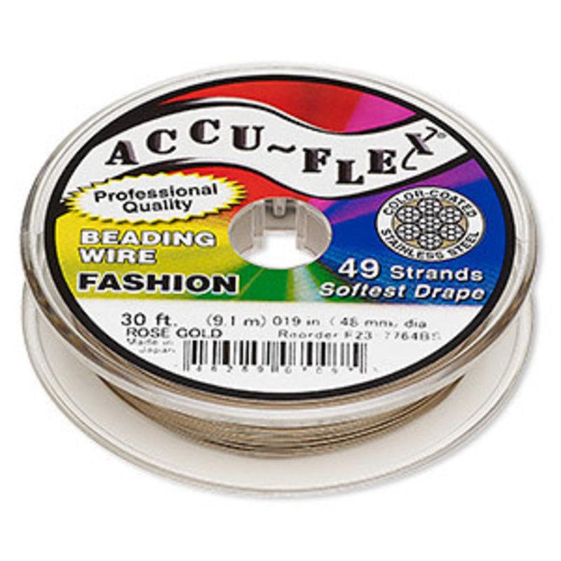 Accu-Flex Accu-Flex Rose Gold 0.19in 30Ft
