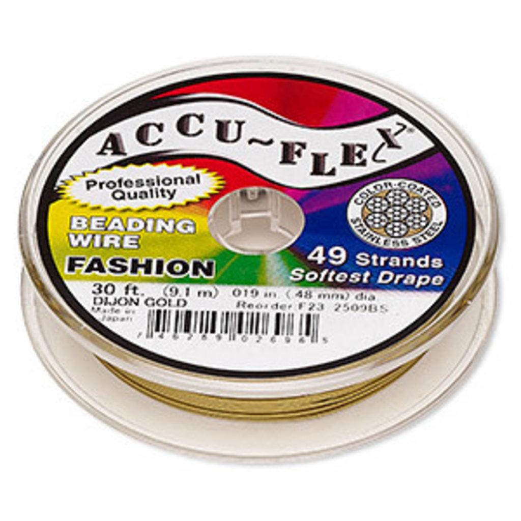 Accu-Flex Accu-Flex Dijongold .019In 30F