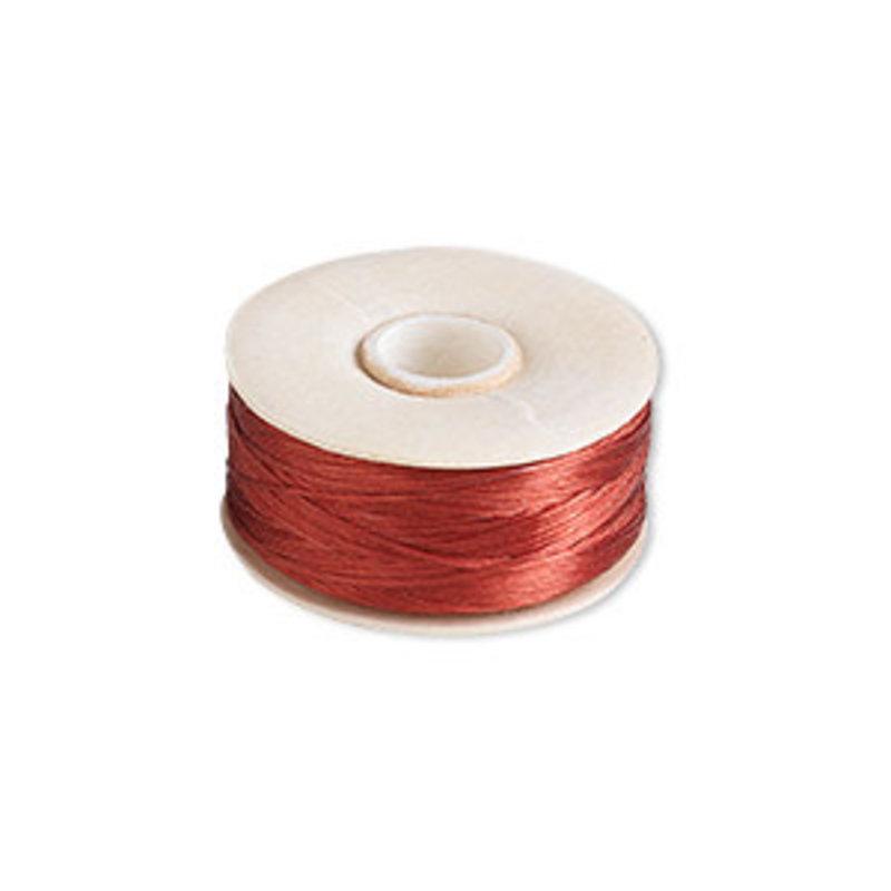 Nymo Thread Nymo Red #B Bobbin 144Yd