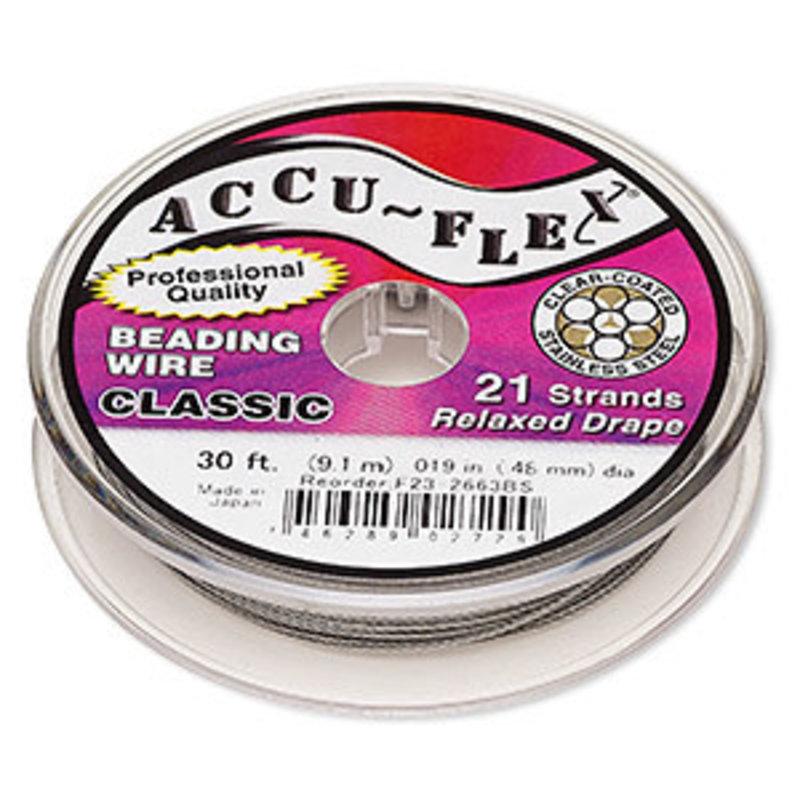 Accu-Flex Accu-Flex Clear .019 30Ft
