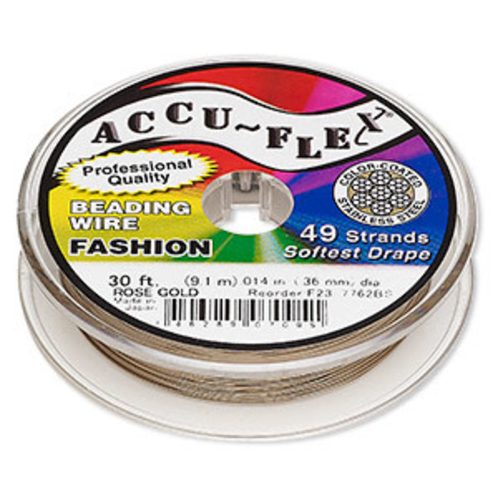 Accu-Flex Accu-Flex Rose Gold 0.14in 30Ft