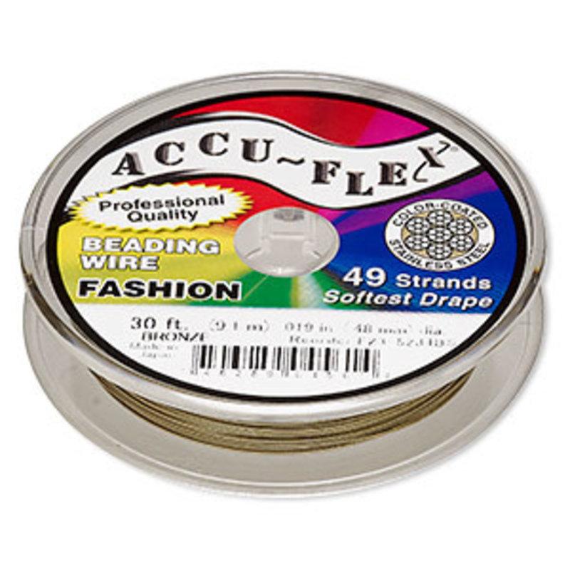 Accu-Flex Accu-Flex Bronze .019 30Ft