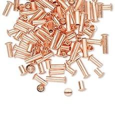 Mix Copper Rivet 3.5x3mm-7.5x3mm 100pcs