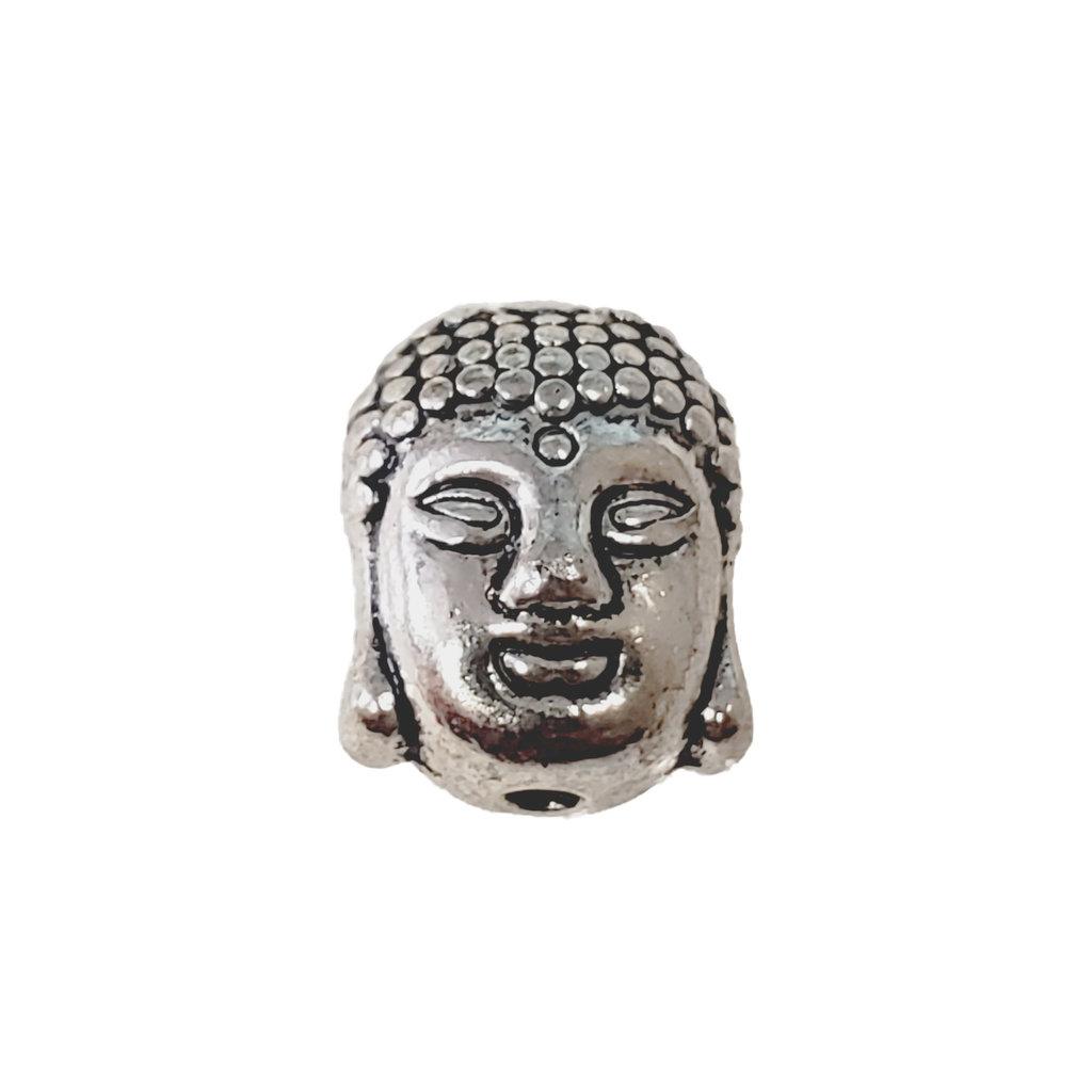 Buddha Head Charm 9x11mm