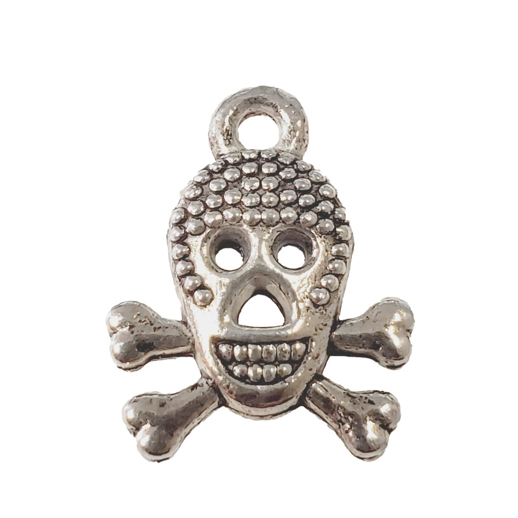 Pirate Skull Charm 13mm
