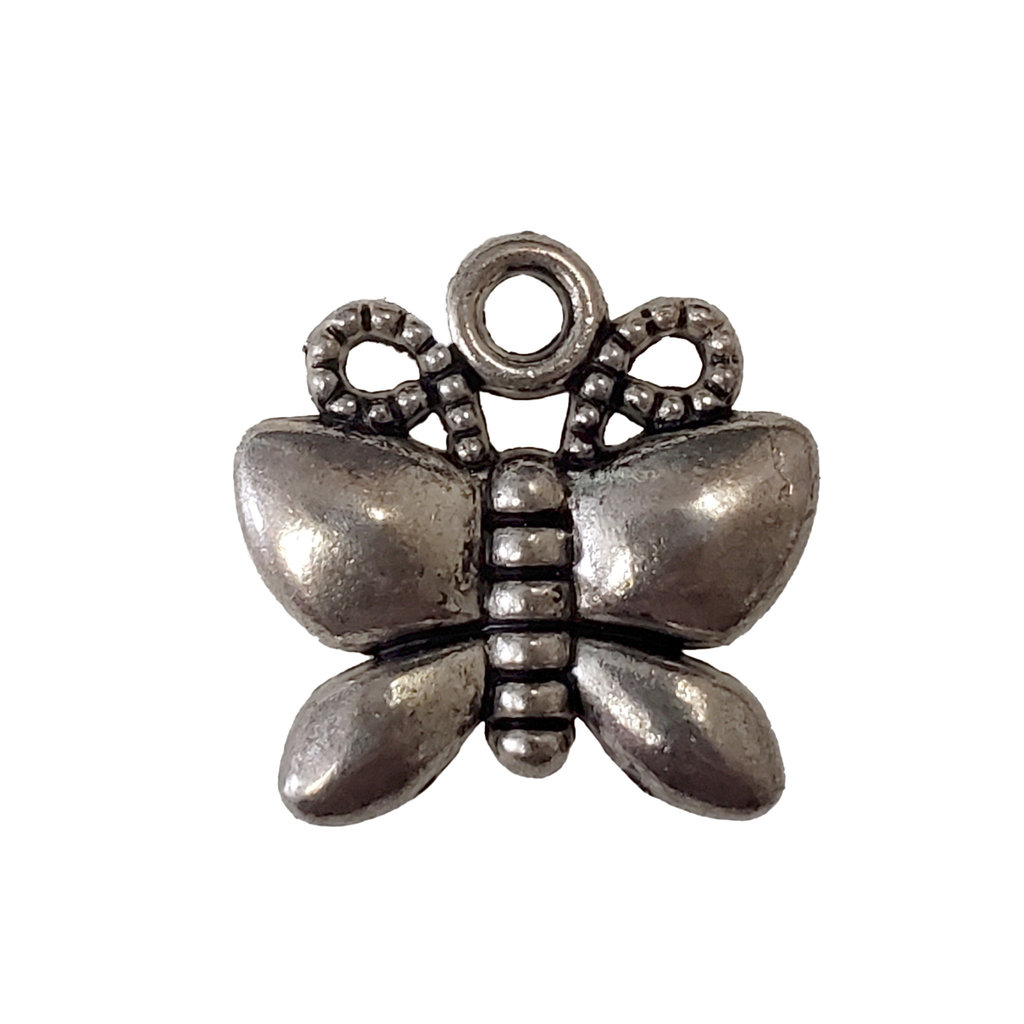 Butterfly Charm  16x16mm