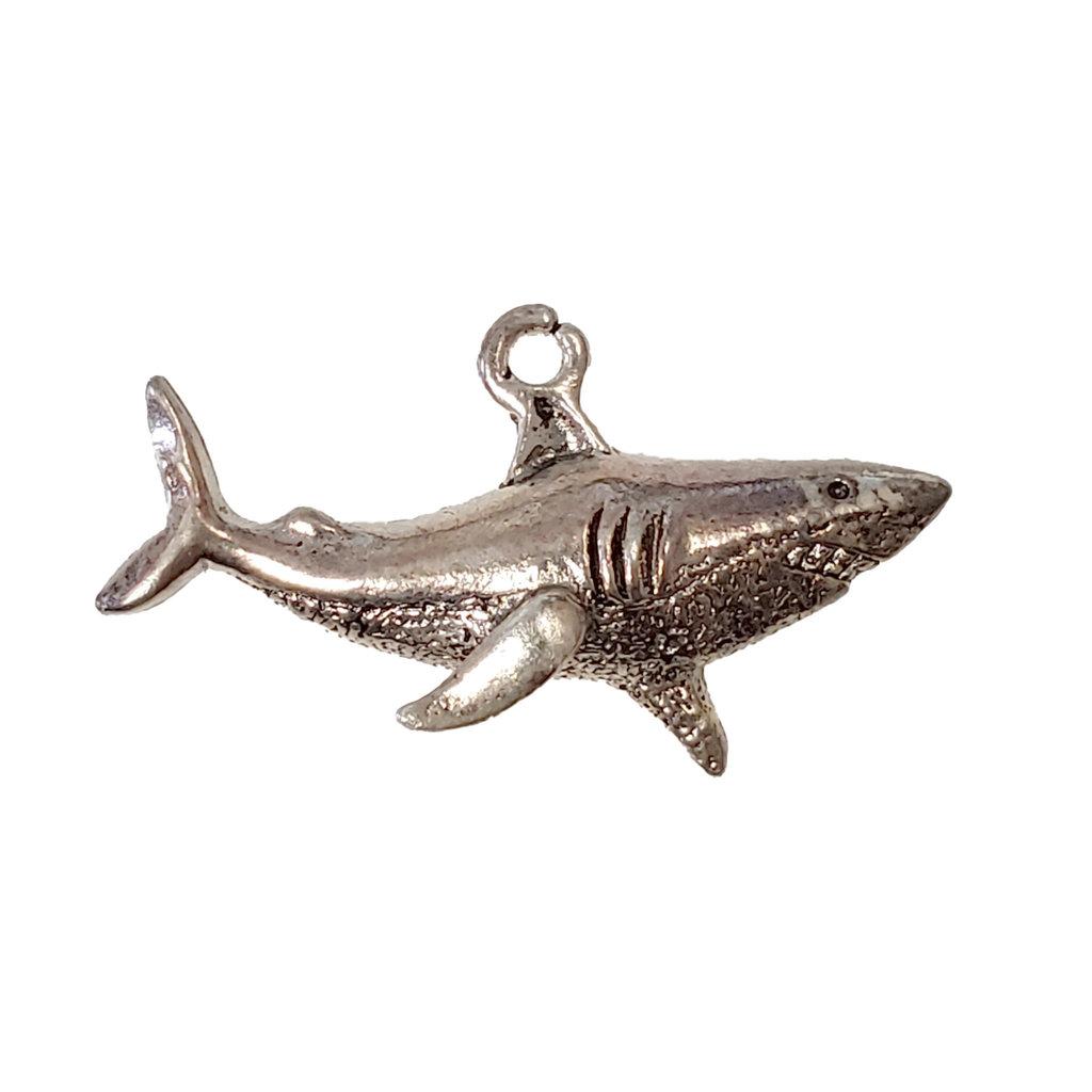 Shark Charm 32x12mm