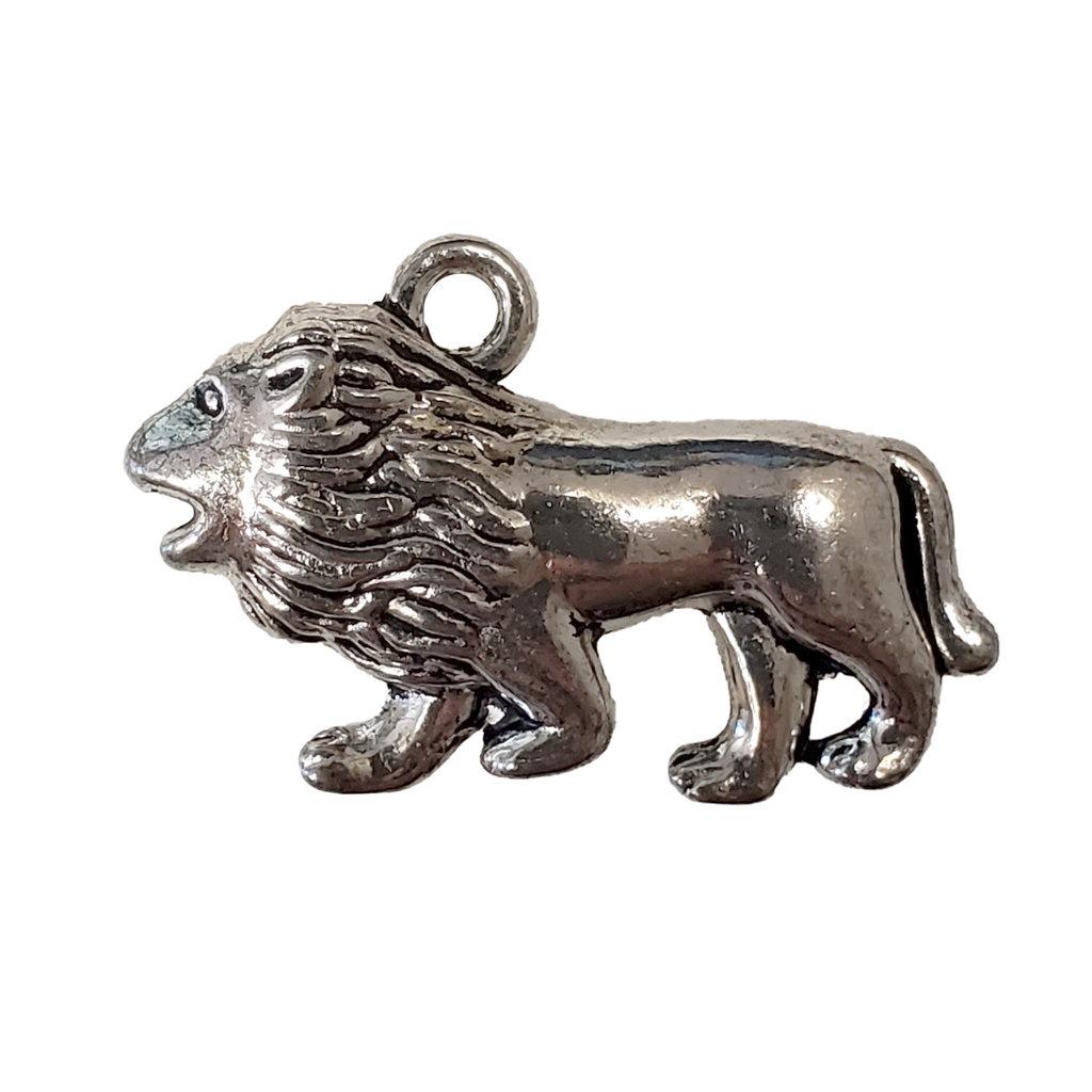 Roaring Lion Charm 28x15mm