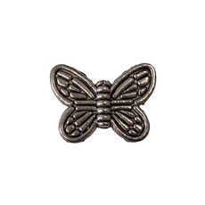 Large Butterfly Charm 15x11mm