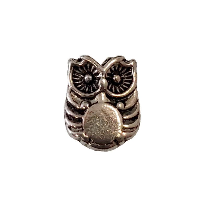 Owl Bird Charm 8x10mm