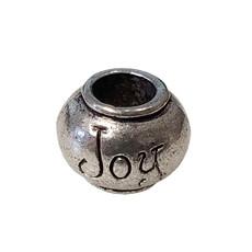 Large Hole Joy Charm 11x9mm