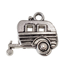 Camping Trailer Charm  19x18mm