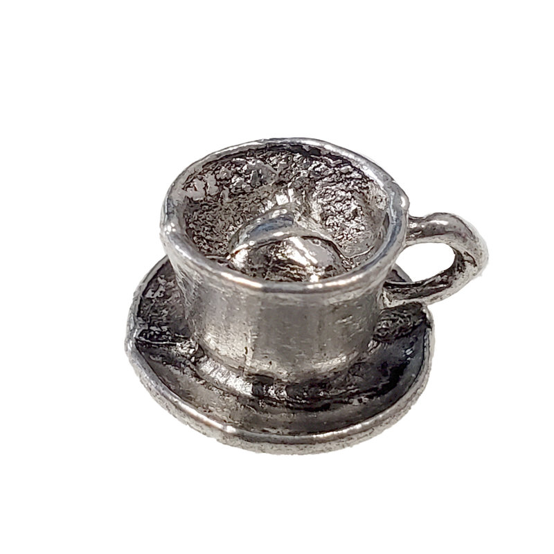 Tea cup Charm 12x8mm