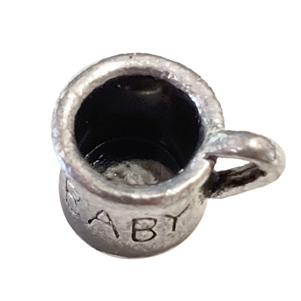 Baby Cup Charm 9x7mm