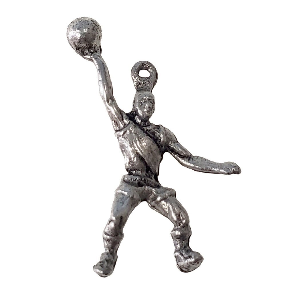 Basketball Player Charm 16x26mm