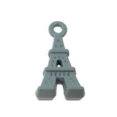 Eiffel Tower - Mint Colored Charm 9x17mm