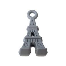Eiffel Tower - Grey Colored Charm 9x17mm