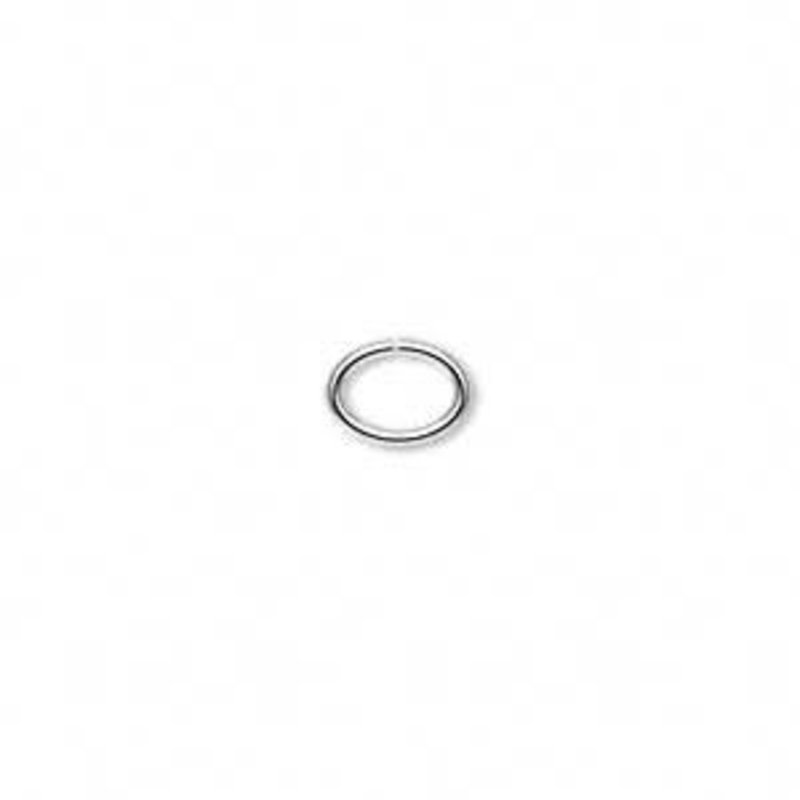 Bead World Stainless Steel Open Oval Jump Ring