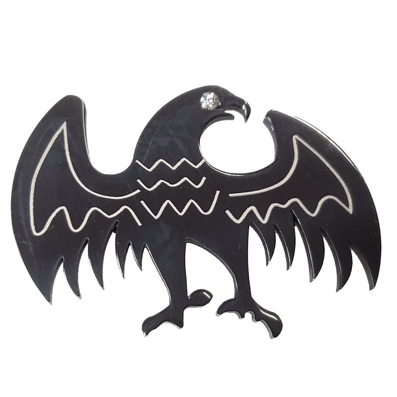 Surgical Steel Eagle Pendant 43x31mm