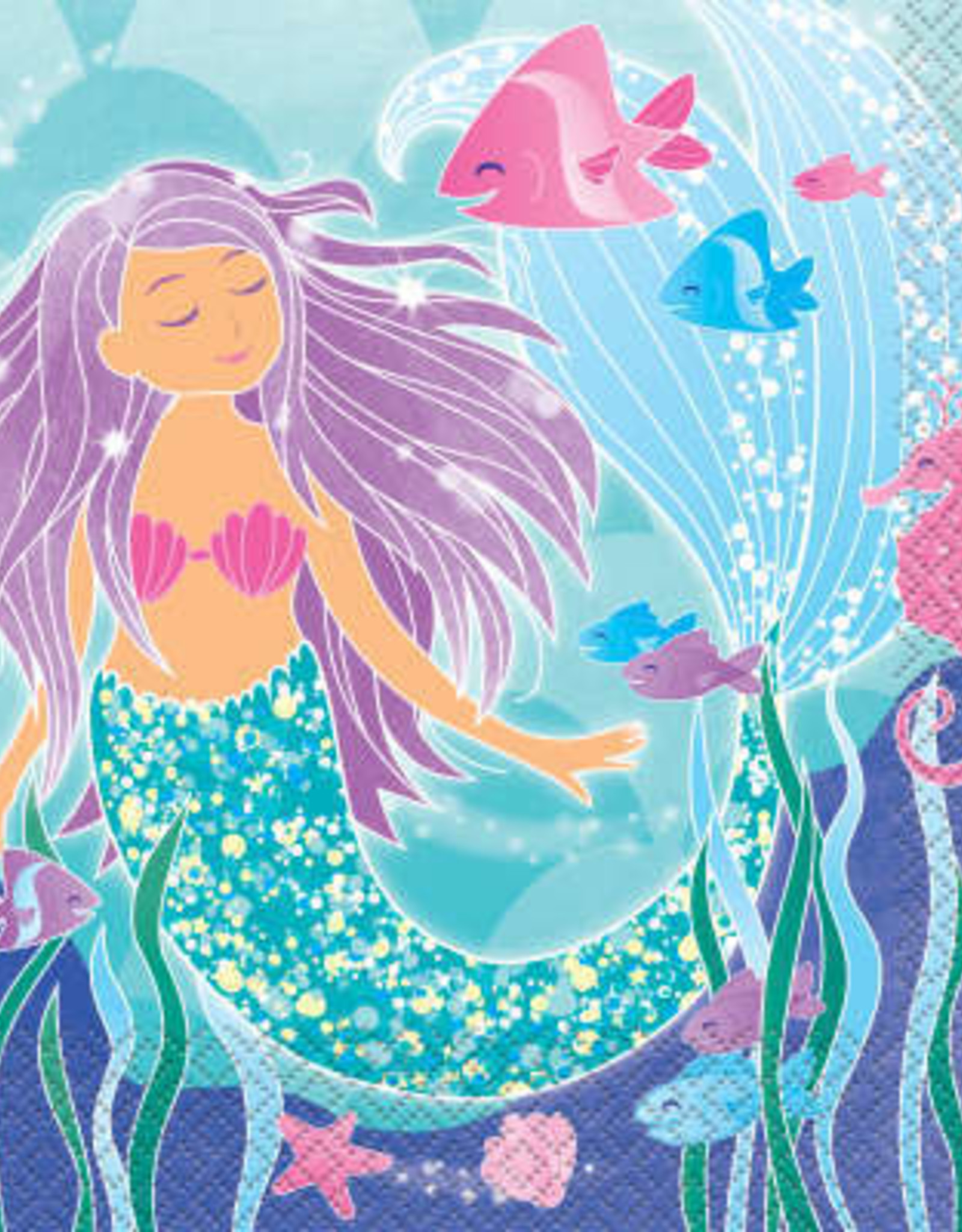 Mermaid Luncheon Napkins