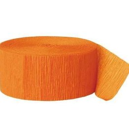 Orange Streamers 81ft
