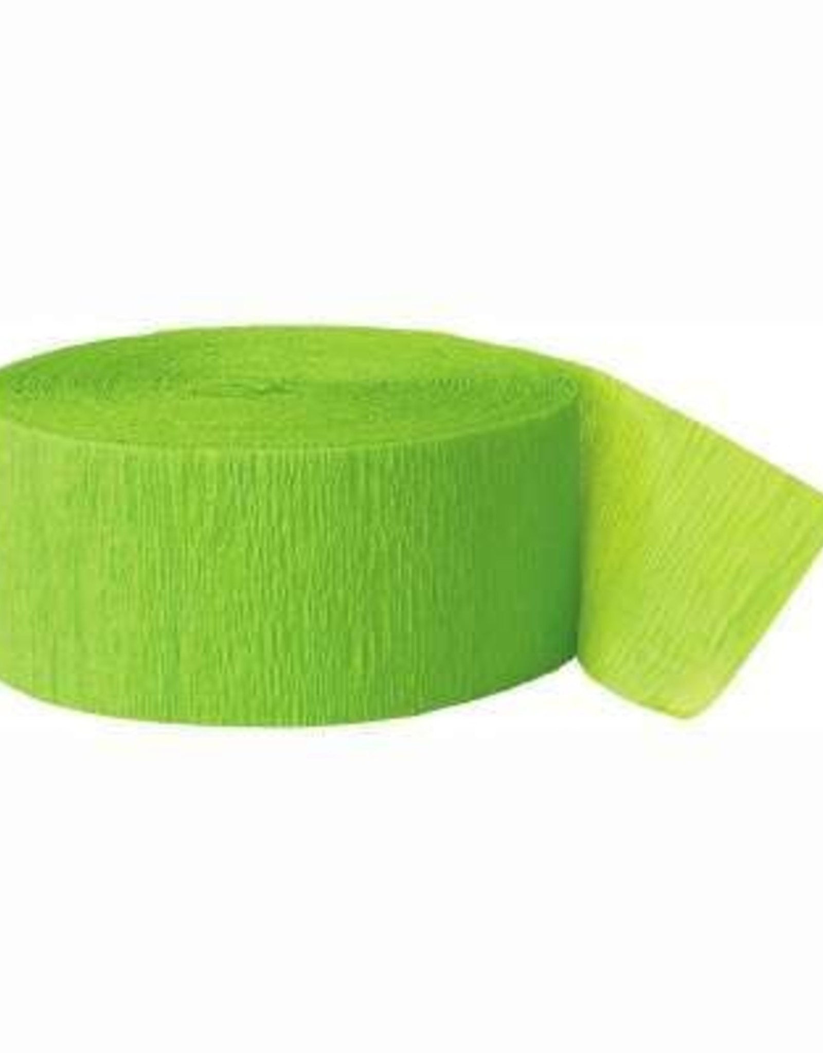 Lime Green Streamers 81FT