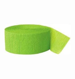 Lime Green Streamers