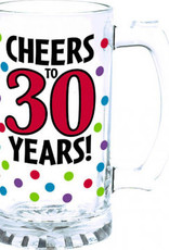 30th Birthday 15oz Beer Mug