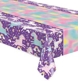 Unicorn Purple 6FT Rectangular Tablecloth