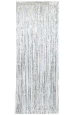 Silver Fringe Door Curtain 8FT