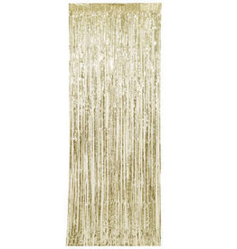Gold Fringe Door Curtain 8FT