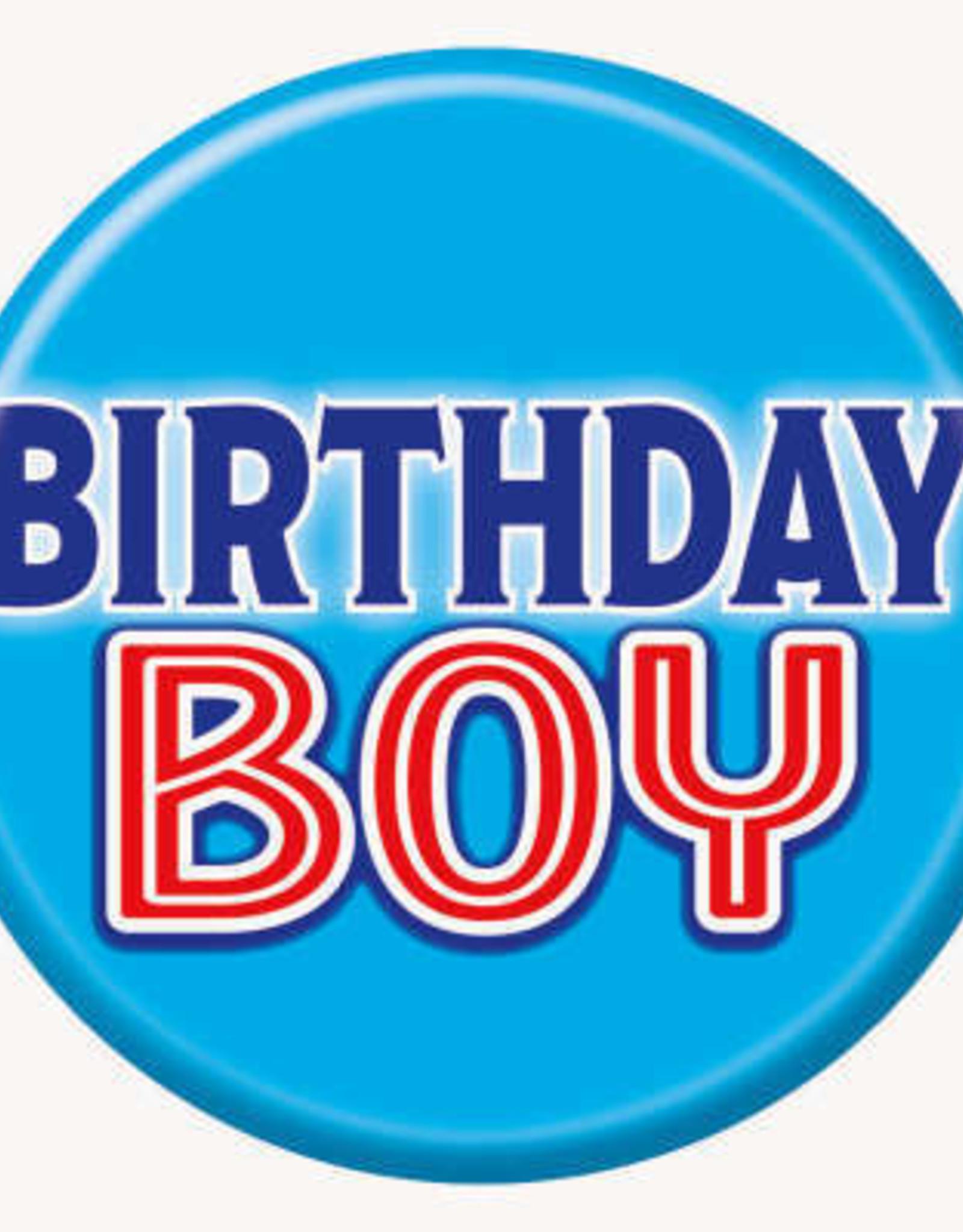 'Birthday Boy' Pin