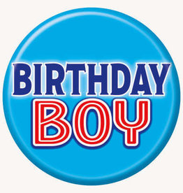 'Birthday Boy' Pin