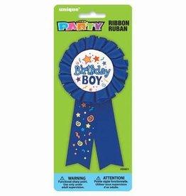 'Birthday Boy' Award Ribbon Pin