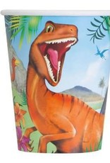 Dinosaur Paper Cups 8ct