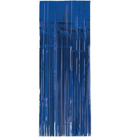 Royal Blue Fringe Doorway Curtain