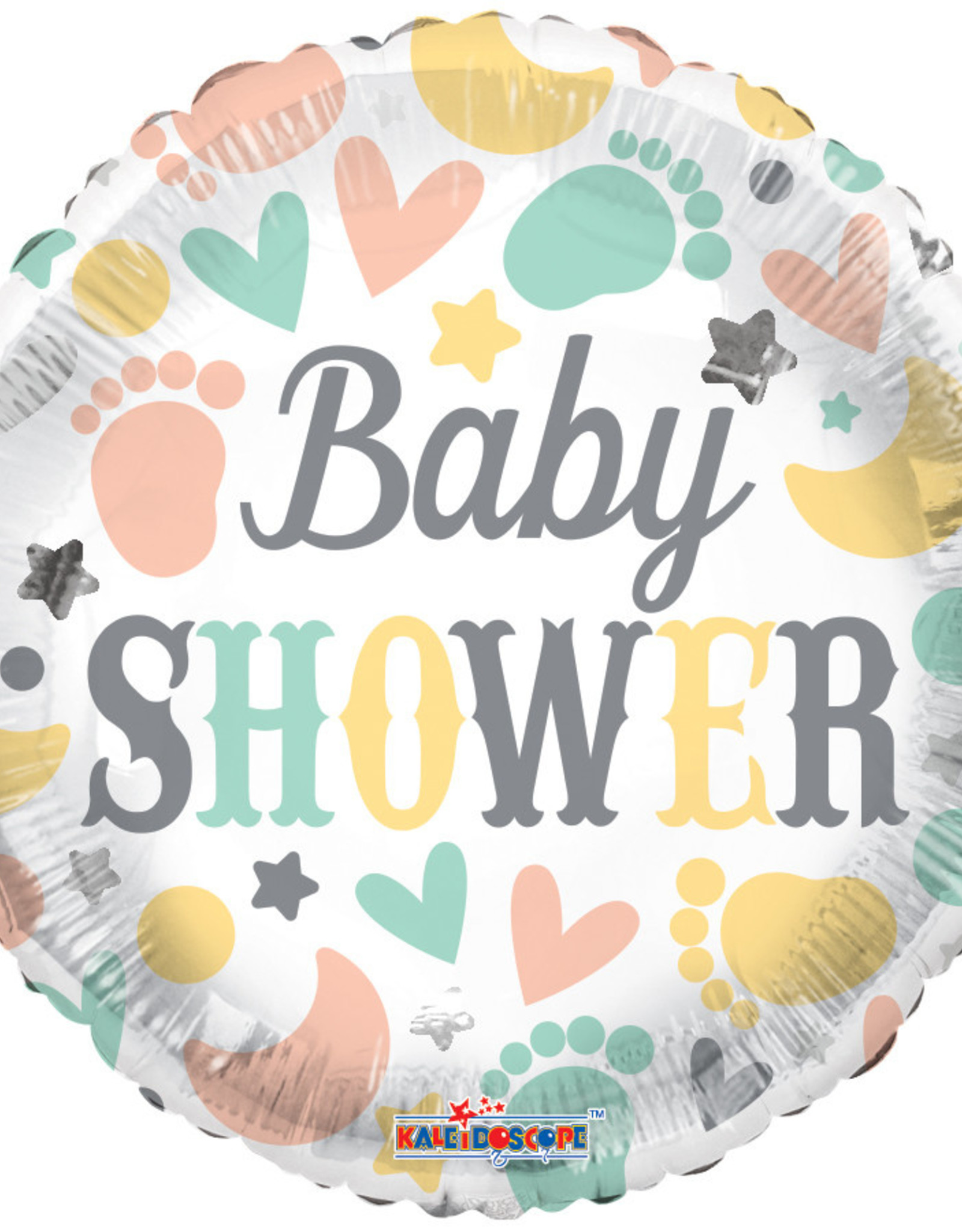 Baby Shower Elements Foil Balloon 18""