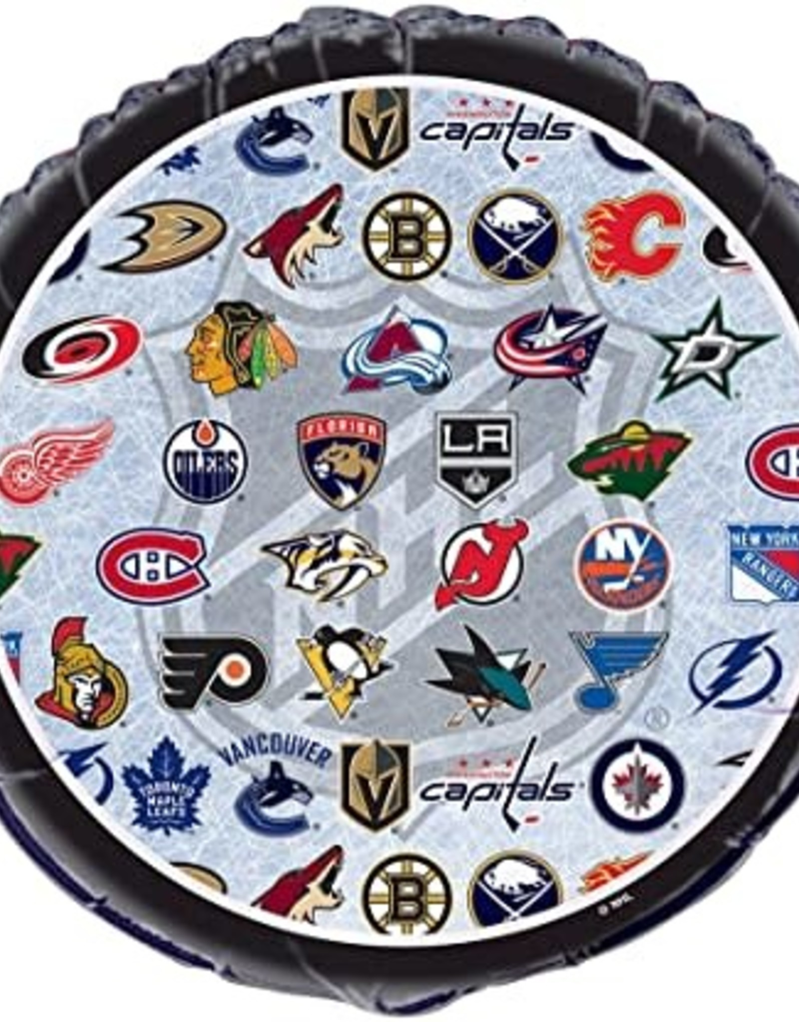 "NHL Hockey Teams Foil Balloon 18"""