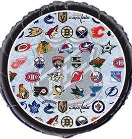 NHL Hockey Teams Foil Balloon 18""