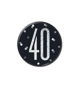 Glitz Black 40 Pin
