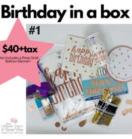 Birthday In a Box #1 Rose Gold