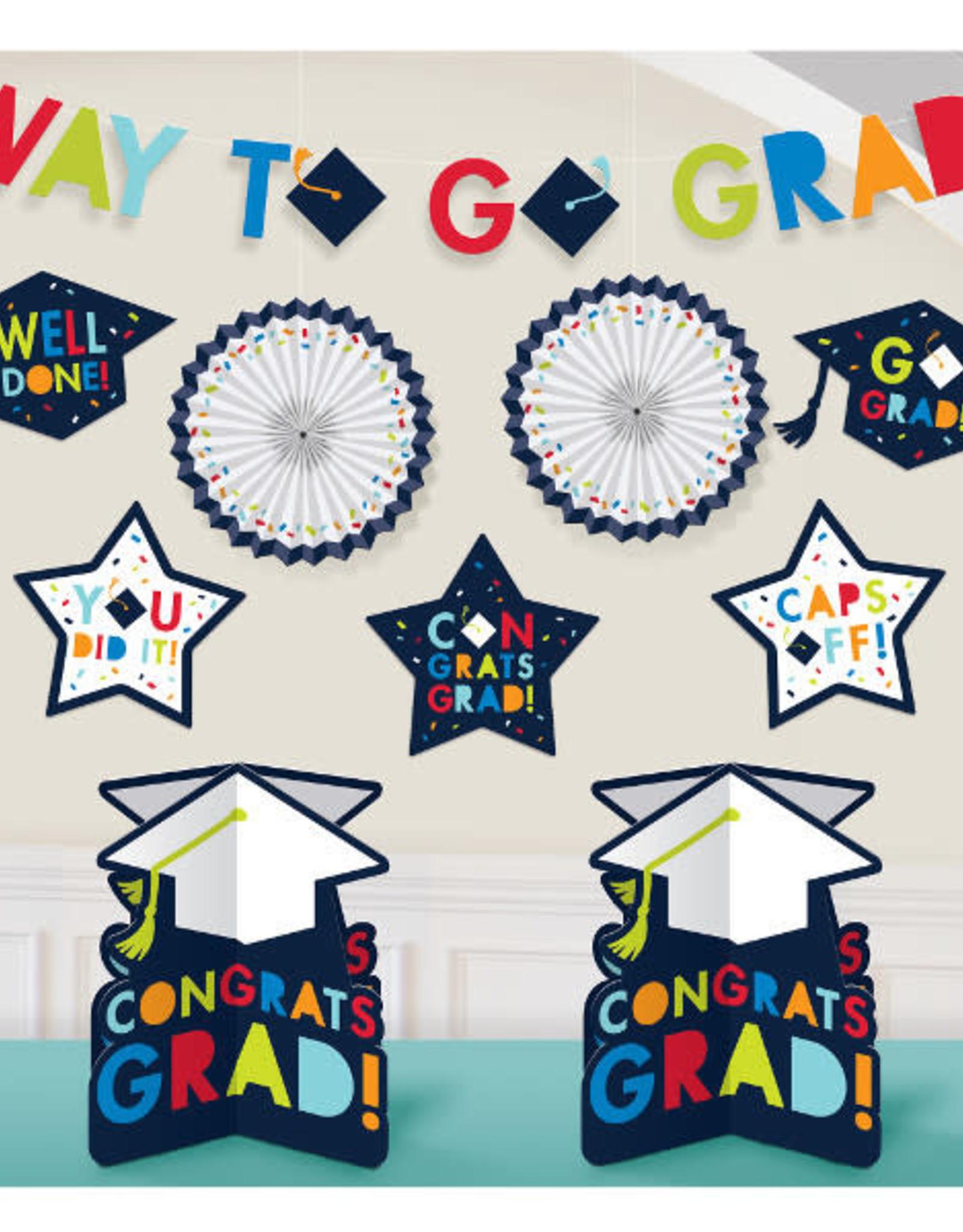 Navy Grad Room Decorating Kit