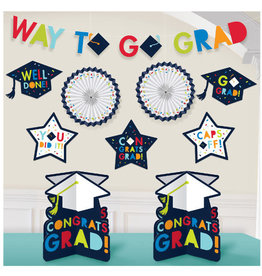 Navy Grad Room Decorating Kit