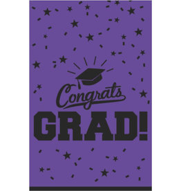 "Purple Grad Tablecloth 54"" x 84"""