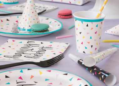 Birthday Plates & Napkins
