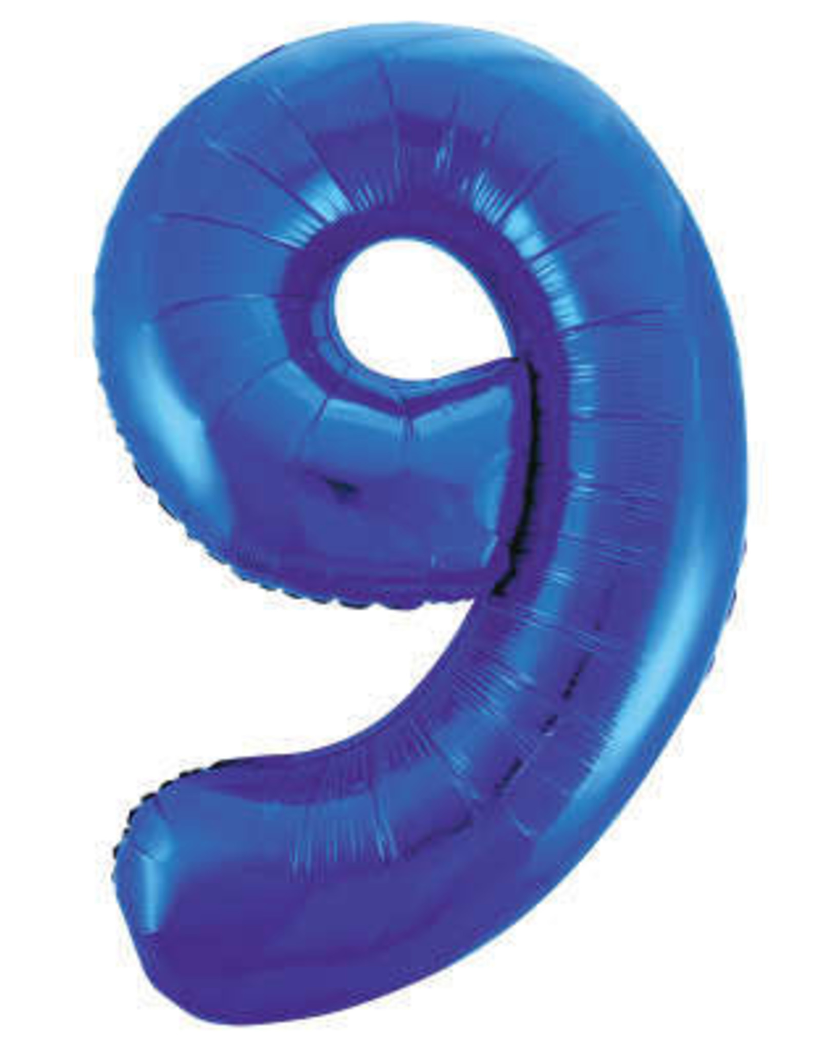 """34"""" Blue Number 9 Balloons"""
