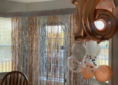 Fringe Door Curtains