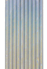 Iridescent Paper Straws 10ct
