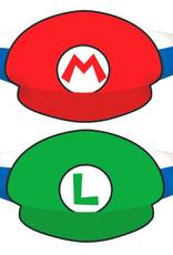 Super Mario Hats 8ct