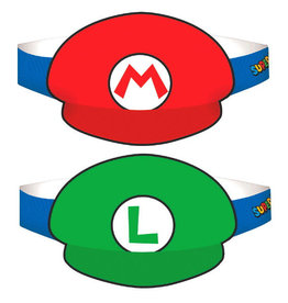 Super Mario Hats 8ct